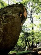 """Rock Climbing Photo: Joanna Jennings on """"Ranger Rick"""" (V-1) i..."""