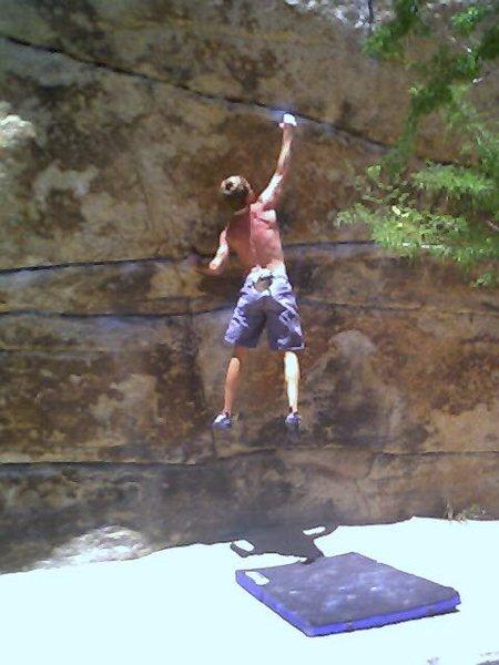Rock Climbing Photo: dyno