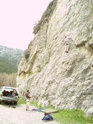 Rock Climbing Photo: Clayton Kerr on KFC at KFP.