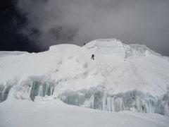 Rock Climbing Photo: Rappeling Tocllaraju