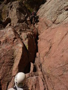 Rock Climbing Photo: Bill n Bill on start of P1.