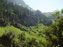 Rock Climbing Photo: High Creek trail.