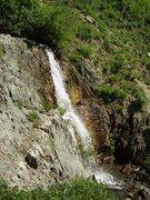 Rock Climbing Photo: Waterfall near High Creek lake.