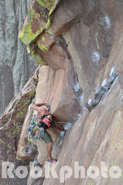 Nick Chan on the classic 4th pitch.
