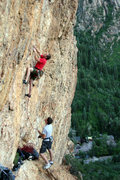 Rock Climbing Photo: Mellow Gold