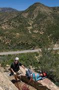 Rock Climbing Photo: Bruce & Carol enjoy a stellar day at the Fortress.
