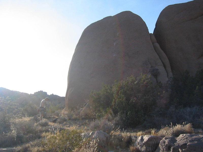 Rock Climbing Photo: Kidney Boy
