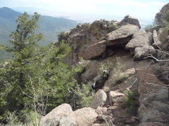 Rock Climbing Photo: If you are coming into the area from above (from T...