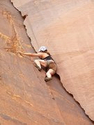 Rock Climbing Photo: Tired and glad to be doing a fun climb at the end ...
