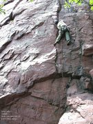 Rock Climbing Photo: Another fine lead