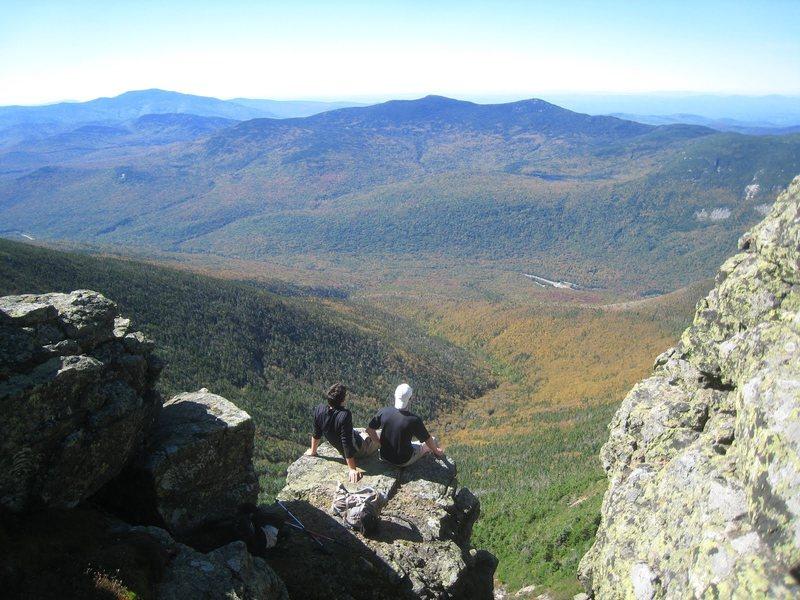 Along Franconia Ridge