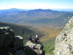 Rock Climbing Photo: Along Franconia Ridge