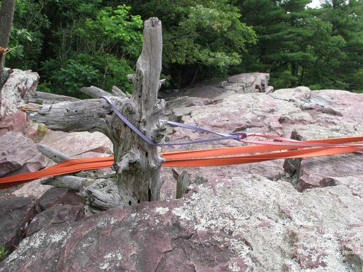 Rock Climbing Photo: Anchors are easy to build ... good anchors are app...