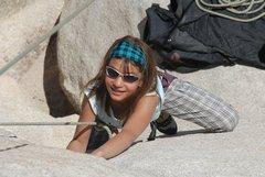 Rock Climbing Photo: Lea enjoying Toe Jam
