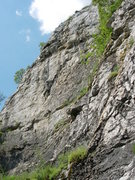Rock Climbing Photo: A view of Nagy Fal at Bajót from the right end.