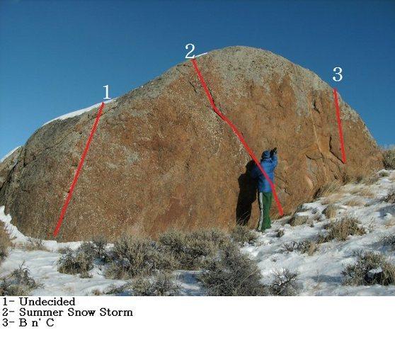 Rock Climbing Photo: Red Eye