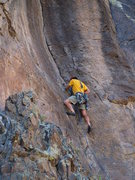 Rock Climbing Photo: Barto getting some business started with Crisis in...
