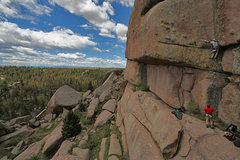 Rock Climbing Photo: Mainstreet and Vedauwoo view.