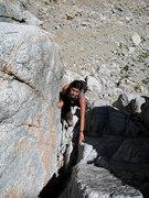 Rock Climbing Photo: lower crack