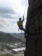 Rock Climbing Photo: if only it were possible to rappel all the way dow...