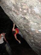 Rock Climbing Photo: knee bar rest