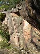 Rock Climbing Photo: This is the short but sweet finger crack