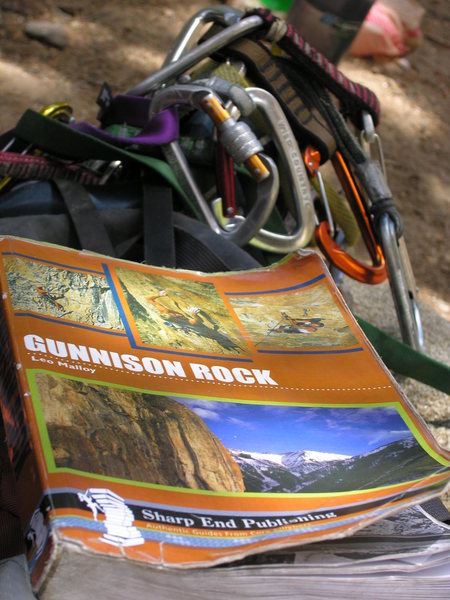 Rock Climbing Photo: The guide and the rack.