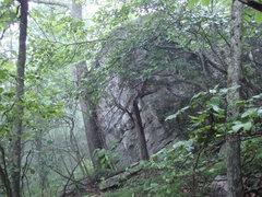 Rock Climbing Photo: mystical boulders