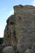 Rock Climbing Photo: Michael Reardon, solo on The Prow.