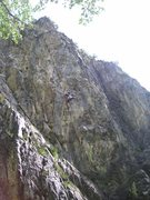 Rock Climbing Photo: Now he is in the right sequence. As neat as this l...
