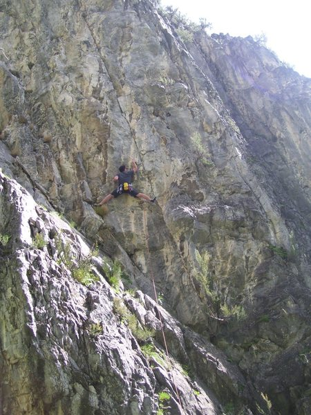 Rock Climbing Photo: I had to post this so John's wife would know how l...