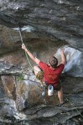 Rock Climbing Photo: otey clipping from one of the monster jugs