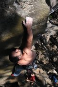 Rock Climbing Photo: jakob sending...