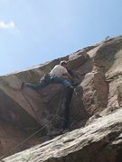 Rock Climbing Photo: Didn't see this angle yet....  Taken from Green Sp...