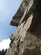Rock Climbing Photo: My new favorite pitch...