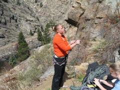Rock Climbing Photo: Me, Belay On!