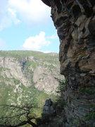 Rock Climbing Photo: View of ampitheater