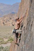 Rock Climbing Photo: Claudio's photo of me