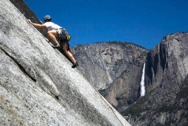 Rock Climbing Photo: Cory on McPherson Struts