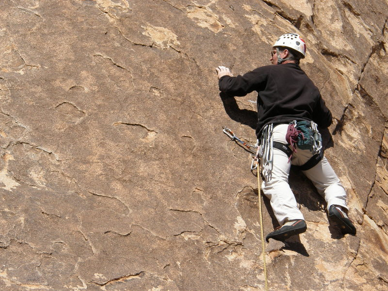 Tim Pinar on George's Route.