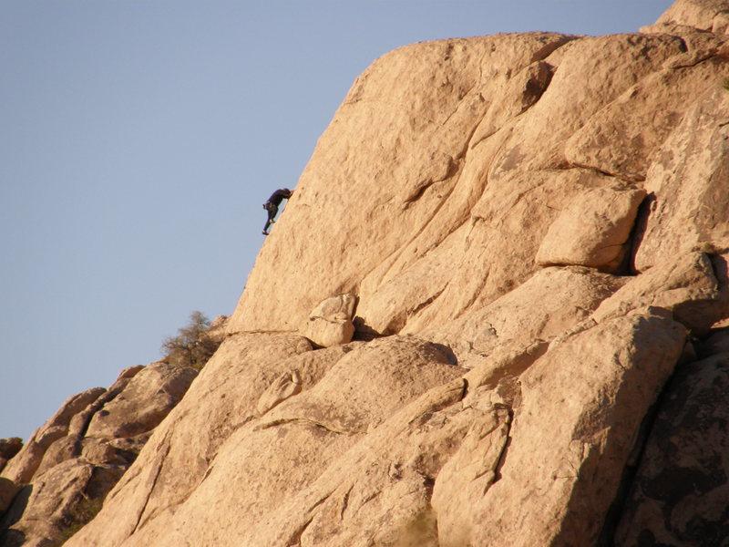 Rock Climbing Photo: Asian Fever, 5.6