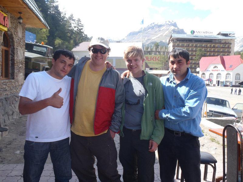 Rock Climbing Photo: Bulgarian drinking buddies