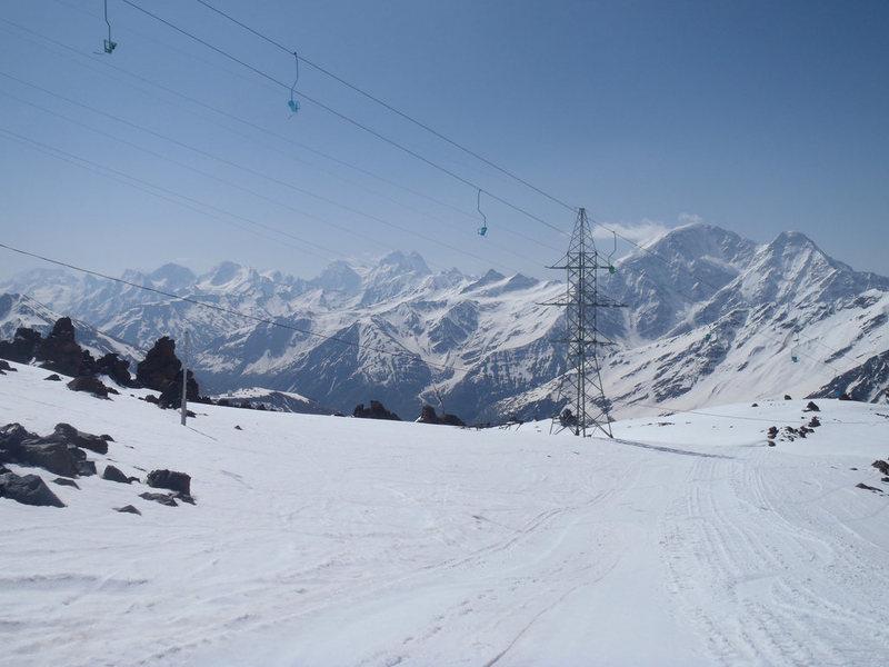 Elbrus chair lift.
