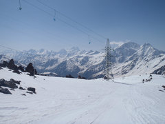 Rock Climbing Photo: Elbrus chair lift.