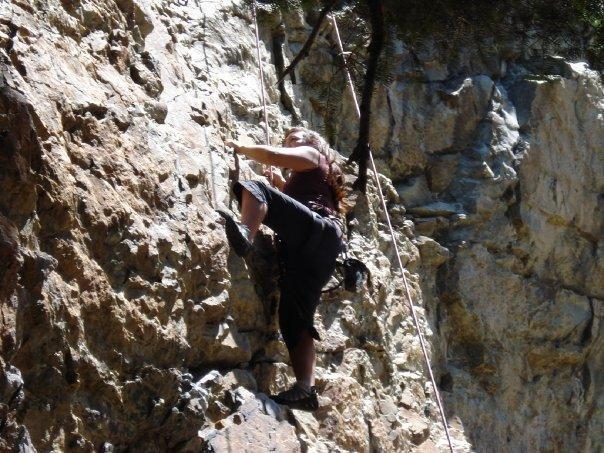 Climbing Hollow Man