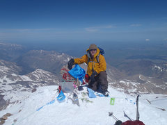 Rock Climbing Photo: Me on the summit of Elbrus