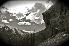 Rock Climbing Photo: Wild Rock.