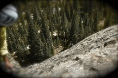 Rock Climbing Photo: Clay on Turkey Rock.