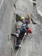 Corey low on P3 of the Golden Arch on the UTW. This pitch is money!