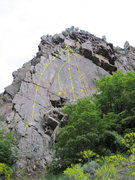 Rock Climbing Photo: A. Lichen Life - 5.10a B. Blade Runner - 5.11c R/X...